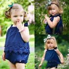 Flower Newborn Baby Girl Dress Bodysuit Romper Jumpsuit Outfits One-pieces 0-18M
