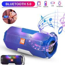 Bluetooth 5.0 Speaker Wireless Outdoor Stereo Bass USB TF FM Radio LOUD Portable