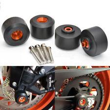 Front Rear Fork Wheel Frame Slider Crash Protector For KTM 125 200 390 Duke & RC