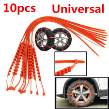 10X Universal Car Truck Snow Anti-skid Wheel Tire Chains Accessories 175-295mm