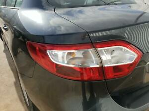 RENAULT FLUENCE LEFT TAILLIGHT (ON BODY) X38, 09/10-01/16