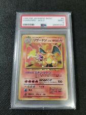 1996 Pokemon Japanese Base Set Psa 9 Charizard Holo #6 Mint