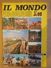 ALBUM Figurine IL MONDO edizioni O.D.S Casalmaggiore anni 70  [P27] Rarissimo