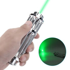 High Power 20 Mile Green Laser Pointer Pen Lazer Zoomable Beam Light 532nm 0.5MW