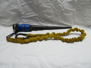 """Klein Tools 14"""" Ironworker Bull Pin 3255 with D Ring and Tool Lanyard"""