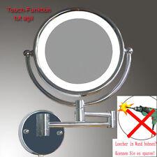 LUXUS LED Beleuchtet Kosmetikspiegel Touch-On-Beleuchtung Nomal+5Fach, WDG-NB