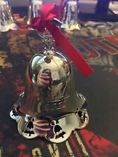 2011 Vintage Collectible Towle Silverplate Limited Edition Annual Christmas Bell