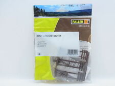 6 PALI TELEGRAFICI h. 68 mm. KIT MONTAGGIO ART. 180921 FALLER SCALA h0