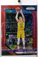 2018-19 Panini Ruby Wave Prizm Moritz Wagner Rookie RC #284, Refractor, Lakers