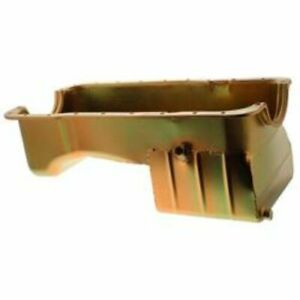 Milodon 31125 Oil Pan Steel Gold Iridite 7 qt. For Ford Small Block 302/5.0L NEW