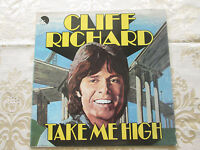 CLIFF RICHARD - TAKE ME HIGH - ORIGINAL 1973 EMI SOUNDTRACK RECORDING + POSTER