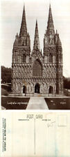 Lichfield Unposted Printed Collectable English Postcards