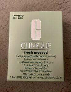 """Clinique """"Fresh Pressed"""" 7-Day De-Aging System (w/Pure Vitamin C)"""