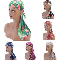 Unisex Men Women Breathable Bandana Adult Hat Turban Cap Doo Durag Headwear New