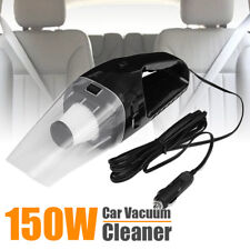 150W 12V Handheld Cyclonic Car Vacuum Cleaner Wet/Dry Duster Dirt Collector