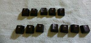 Replacement Keycap for Razer Blackwidow Keyboards- Please Read Description (Lot)