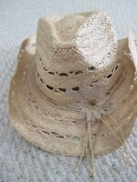 Peter Grimm Cowboy Western Hat NEW womens