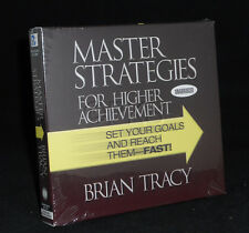 6 CD Master Strategies For Higher Achievement  Brian Tracy ( Nightingale Conant)