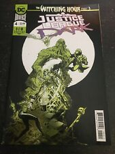 """Justice League Dark#4 Incredible Condition 9.4(2018)""""Witching Hour"""" Foil Cover"""