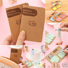 2 × Cute Animal Kraft Paper Mini Sticky 4 Styles Notes Memo Pad Gift Stationery