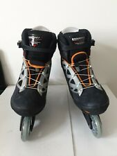 New Rollerblades Inline skate Adult Aero 7 composite Shockeraser size UK11,US12