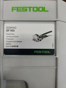 FESTOOL 574332 Domino Joiner DF 500 NEw