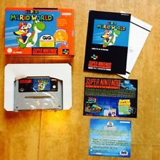 Super Mario World Super Nintendo Classics 64 Nes Pal Eur New Snes Bros Nuevo