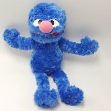 """Gund Grover Sesame Street Plush STUFFED ANIMAL 14"""" Toy 2002 Bean Monster"""