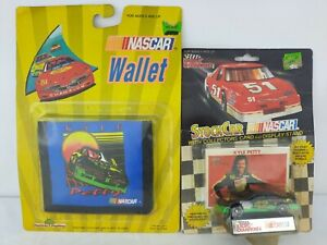 Kyle Petty 1991 Die Cast Car 1:64 NASCAR #42 & Vintage Wallet Collectible Mello