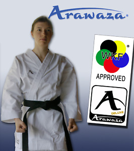 Arawaza KATA DELUXE Karate Suit Gi MARTIAL ARTS 12oz WKF APPROVED - Adult Sizes