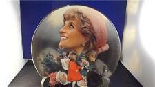 "Princess Diana Franklin Mint ""England's Rose "" Ha9654 Pre-owned Coa"