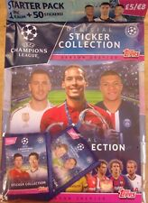 Uefa Champions League 2019/20 ~ Topps Sticker Collection Starter Album Pack