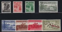 Papua New Guinea Sc #139-46 (1958-60) Pictorial Set Mint VF NH