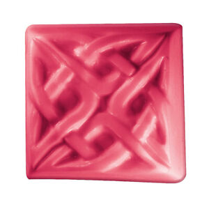Celtic Square Soap Mold by Milky Way Soap Molds - MW337
