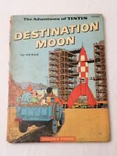 1960, Destination Moon, Adventures of Tintin, Golden Press, FIRST US EDITION