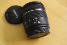 Panasonic Lumix G Vario 14-42mm F/3.5-5.6 lens - Black