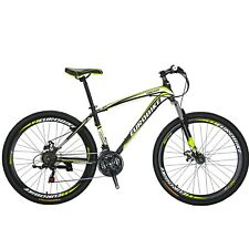 "X1 27.5"" mountain Bike Shimano 21 Speed Mens Bicycle Front Suspension Disc Brake"
