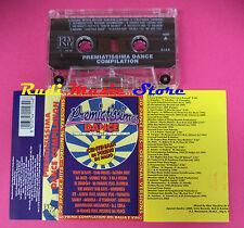 MC PREMIATISSIMA DANCE COMPILATION compilation FARGETTA MOLELLA no cd lp dvd vhs