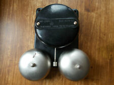 Vintage Big Bakelite Electric Door Bell Industrial Steampunk