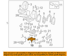 GM OEM Front Seat-Seat Track 22804419