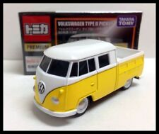 TOMICA PREMIUM VOLKSWAGEN TYPE II PICKUP 1/65 TOMY YELLOW  NEW DIECAST CAR