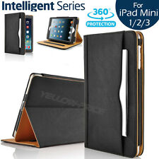 NEW Soft Leather Wallet Stand Case Smart Cover&Pocket Pouch for iPad Mini 1 2 3