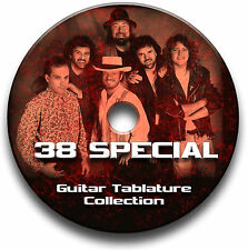 38 SPECIAL ROCK GUITAR TAB TABLATURE SONG BOOK SOFTWARE CD