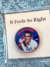 """NOS ELVIS MYSTIC STAMP COLORIZED QUARTER GREATEST HITS """"IT FEELS SO RIGHT"""""""