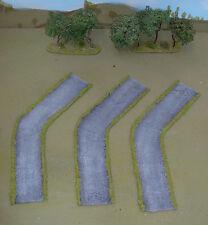 WARGAMES 15mm METALlED FLEXI ROAD No 5 FLAMES OF WAR, WW2 handmade by FAT FRANK