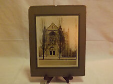 Vintage photo of Old Stone Catholic Church Unknown location. LOOK!