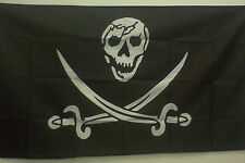 Pirate Flag 3' x 5' Skull and Crossed Swords Jolly Roger