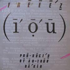 "FREEEZ i.o.u/i dub u SP45T 7"" 1983 TBE RARE baker POP++"