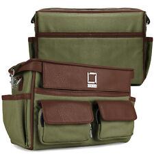 Lencca Green DSLR Camera Camcorder Shoulder Bag for Hasselblad Leica Voigtlander