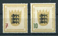 Bund 212 - 213 sauber postfrisch Landesausstellung BRD 1955 MNH